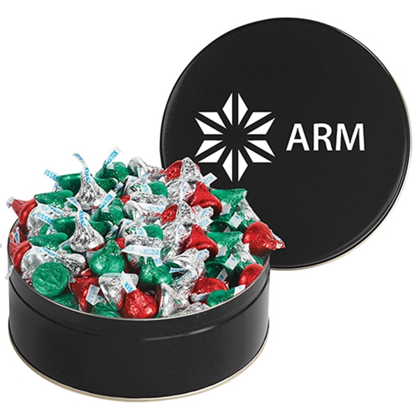 Snack Tin with Hershey's (R) Holiday Kisses (R)