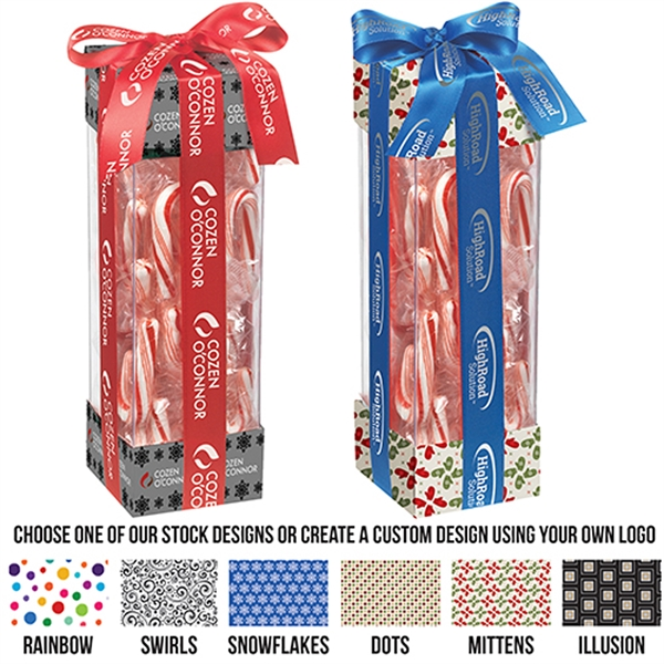 Executive Treat Container - Mini Candy Canes