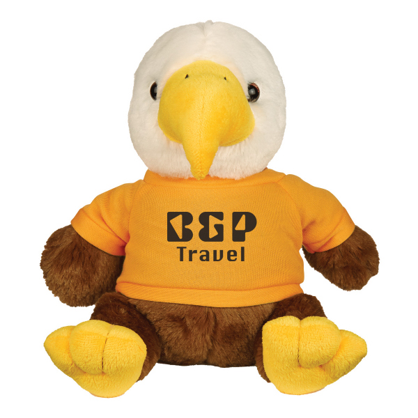 "8 1/2"" Plush Liberty Eagle"