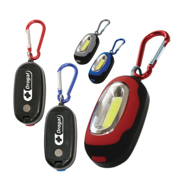 Super-Bright COB LED Carabiner Utility Light