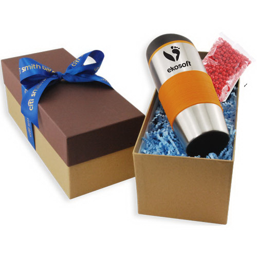 Gift Box with Tumbler and Red Hots