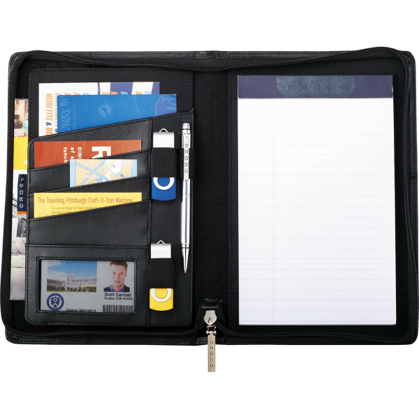 Cross(R) Jr. Zippered Padfolio
