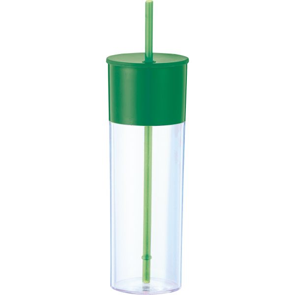 Color Band 22-oz. Tumbler with Straw