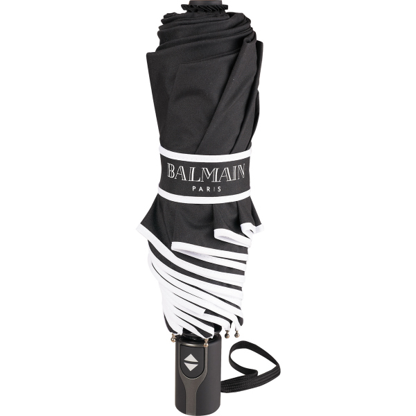 "42"" Balmain(R) Runway Auto Open/Close Umbrella"