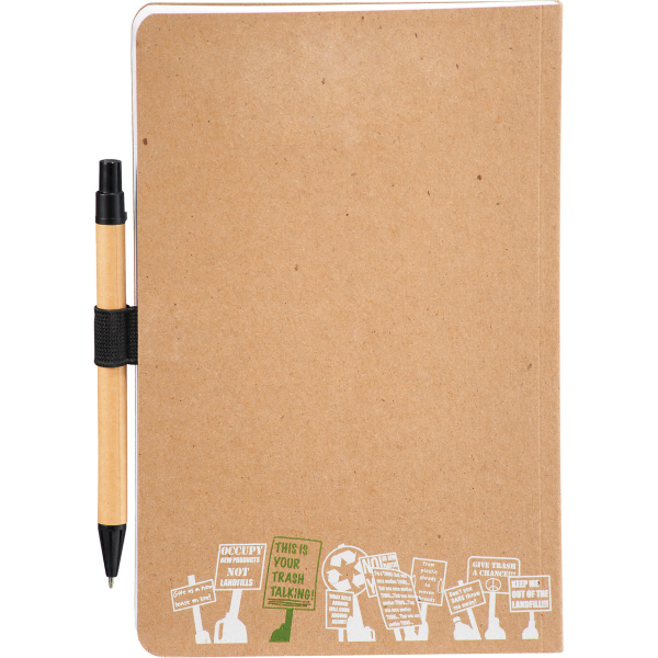 CLEARANCE:Trash Talking Recycled Bound JournalBook(TM)