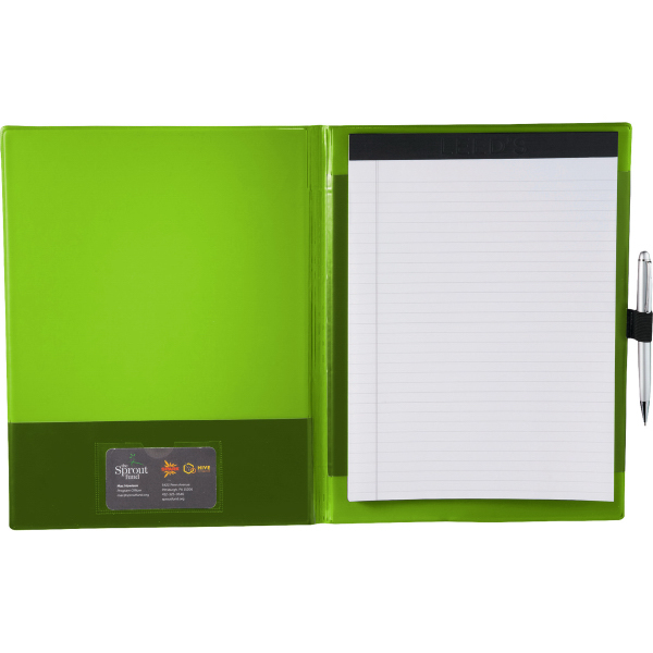 CLEARANCE:Color Step Padfolio