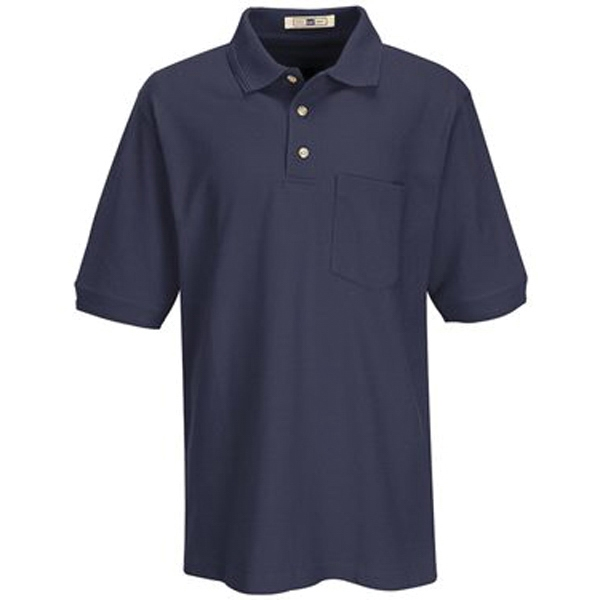 Basic Pique Polo With Pocket
