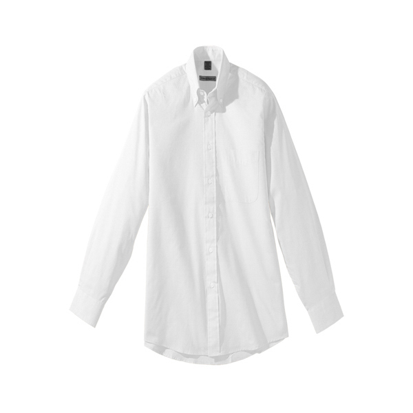 "Men's Long Sleeve Pinpoint Oxford Shirt - 35"" Sleeves"
