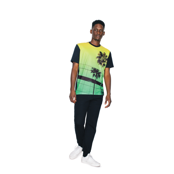 Sublimation Contrast Short Sleeve T-Shirt