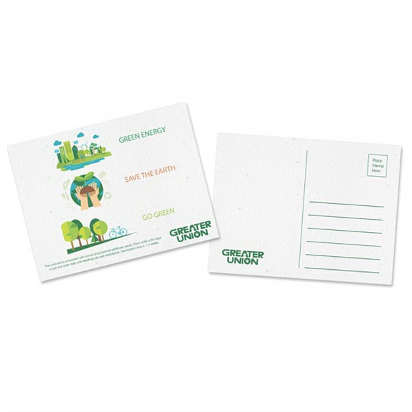 Premium Seeded Paper Postcard