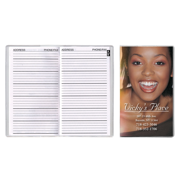 Theme Full-Color Vinyl Cover Address Book