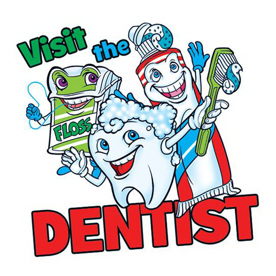 Visit The Dentist Temporary Tattoo