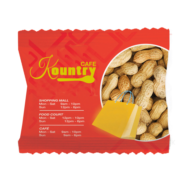 Wide Zaga Snack Bag with Peanuts In Shell
