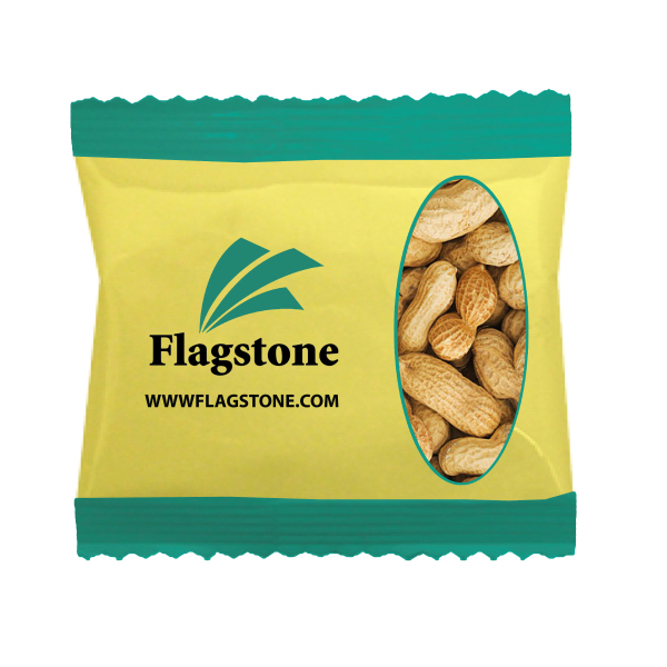 Wide Zaga Snack Bag with Peanuts In A Shell