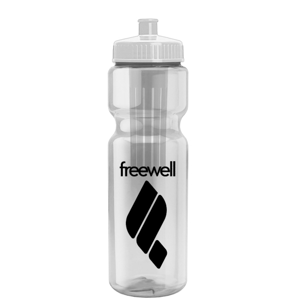 Infuser 28 oz Infuser Bottle - Push-Pull Lid