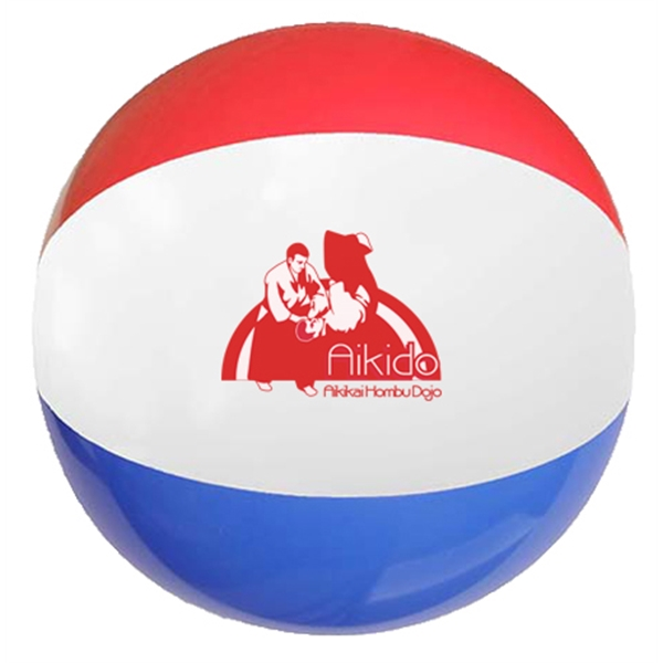 "16"" Red-White-Blue Beach Ball"