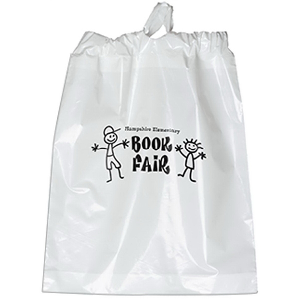 Poly Draw Bag - 15 x 19 x 3