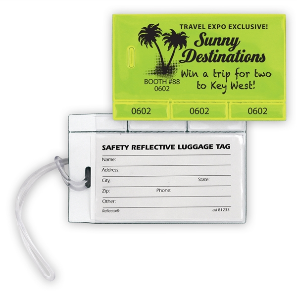 Reflective Luggage Tag/Tabber (3)
