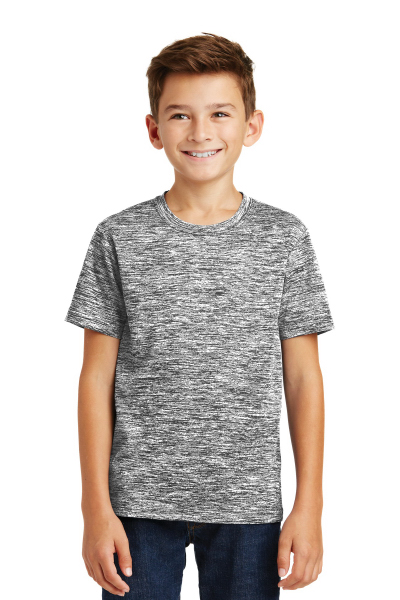 Sport-Tek Youth PosiCharge Electric Heather Tee.