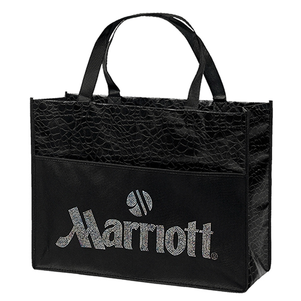Couture Laminated Tote Bag