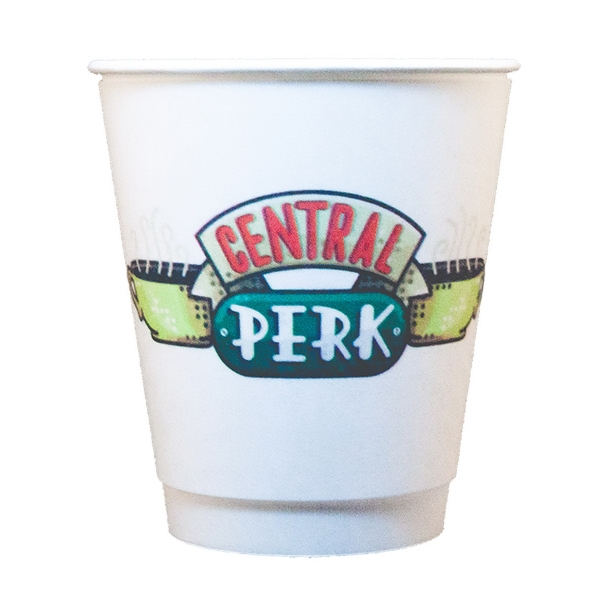 Digitally Printed 12 oz. Insulated Paper Cup