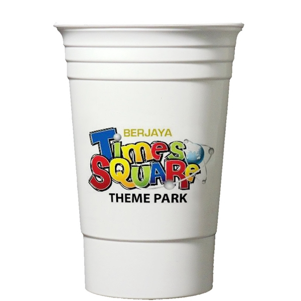 Digitally Printed 16 oz. Double Wall Party Cup