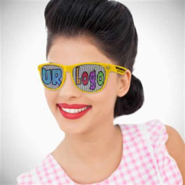 Yellow Custom Classic Billboard Sunglasses