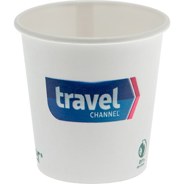 4 oz Eco-Friendly Paper Cup - White
