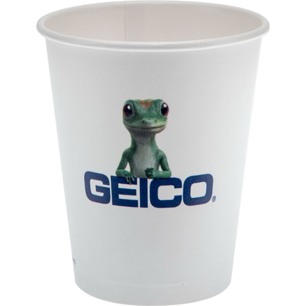 12 oz Eco-Friendly Paper Cup - White