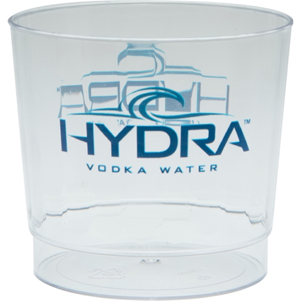 9 oz Clear Fluted Plastic Cup