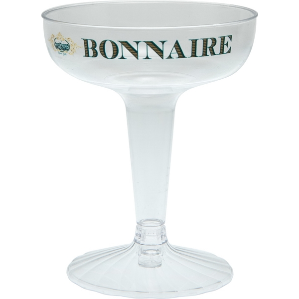 4 oz Clear Hard Plastic Champagne Cup