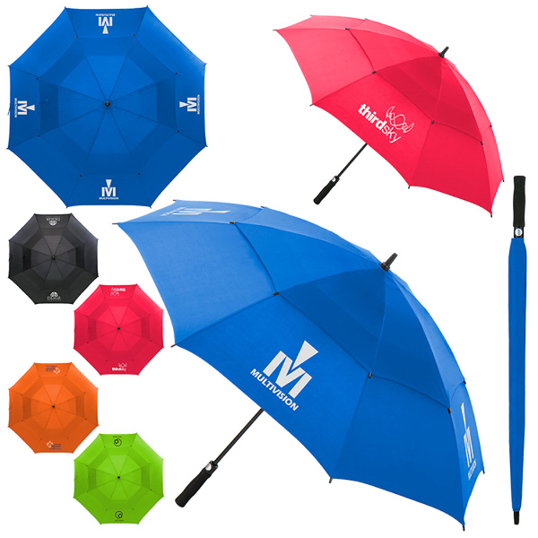 "Arcus Auto Open 60"" Vented Canopy Golf Umbrella"