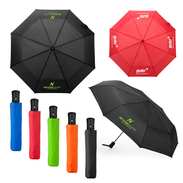 "Cirrus Auto Open and Close 41"" Travel Umbrella"
