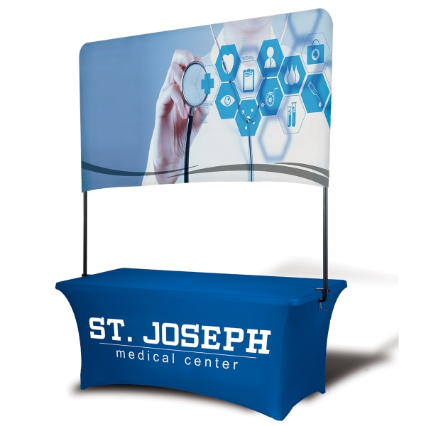 "6' Table Top Billboard Banner, 41"" H"
