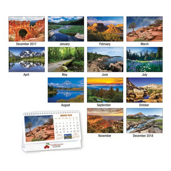 National Parks Appointment Standard Desk Calendar