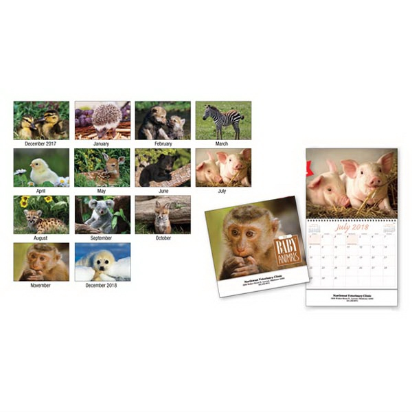 Kingswood Collection Baby Animals Appointment Calendar