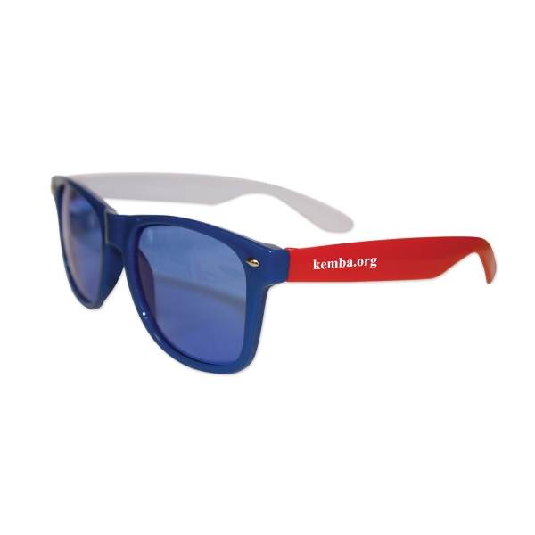 Kids Red, White, & Blue Iconic Sunglasses