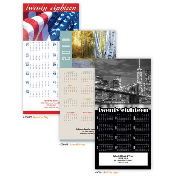 Kingswood Collection Tri-Fold Calendars