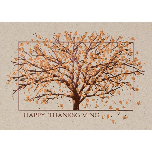 Thankful Tree Greeting Card