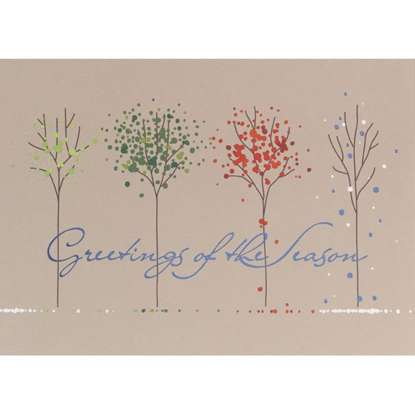 Greetings of the Season Greeting Card