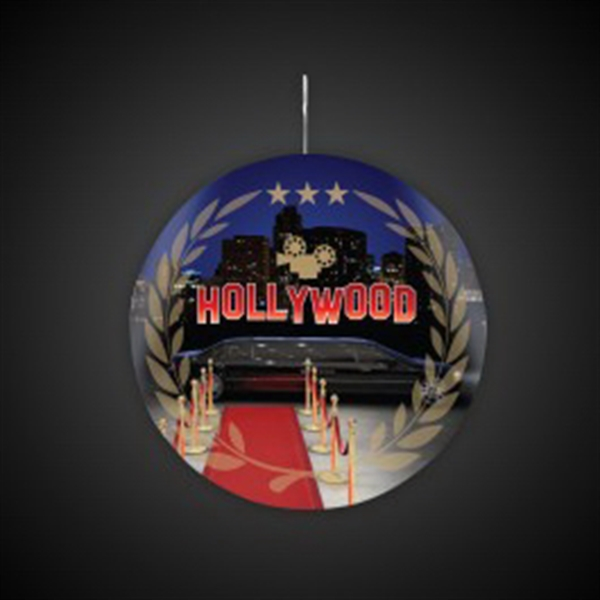 Hollywood Plastic Medallions - 2 1/2""