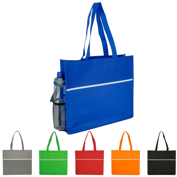Wave Shopping Tote (Blank)