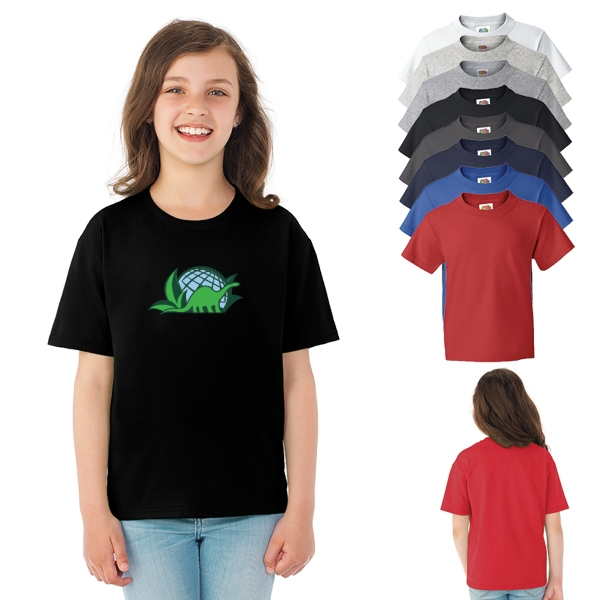 Fruit of the Loom(R) HD Cotton Youth T-Shirt - Colors