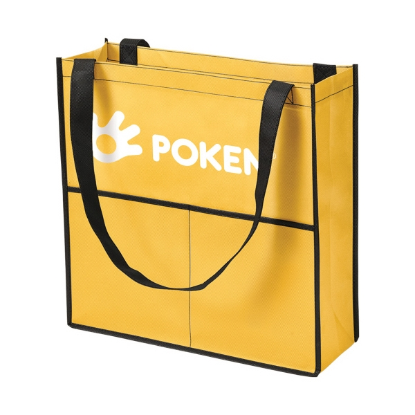 Glendale Two Pocket Non-Woven Tote
