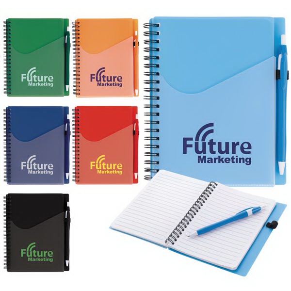 Surf Notebook with Dart Pen