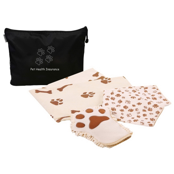Microfiber Dog Wash Kit