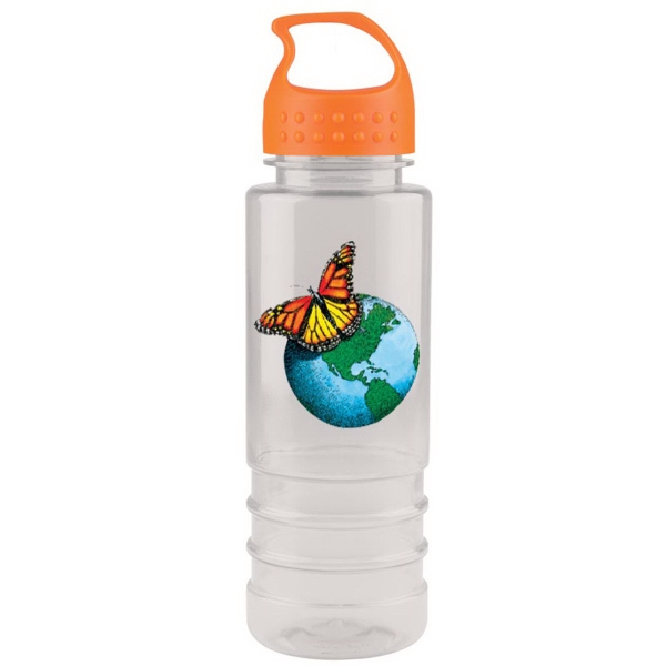 24 Oz. Tritan(TM) Salute Bottle with Crest Lid (Digital)
