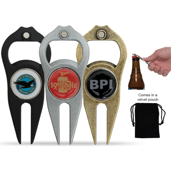 Hat Trick (R) 6-in-1 Divot Tool