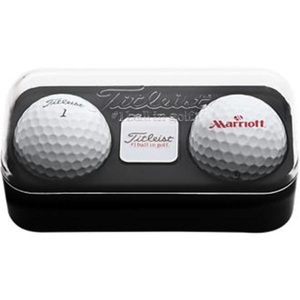 Titleist 2-Ball Pack with Ball Marker