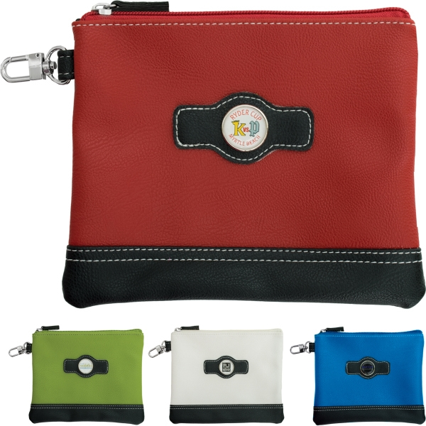Synthetic Leather Valuables Pouch